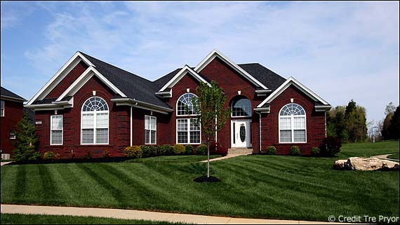 Photo of a home in Little Spring Farm for the Louisville KY Housing Reports page