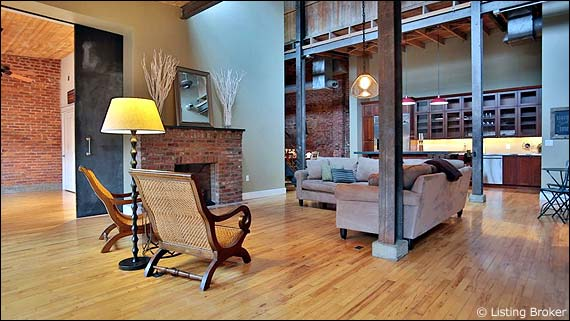 Photo of a loft for Downtown Louisville Housing Report page