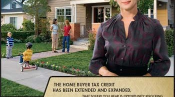 Home Buyer Tax Credit Extended Ad by NAR