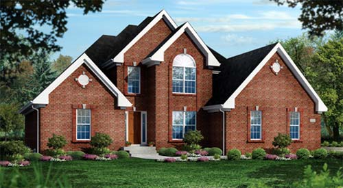 Rendering of home by Elite Homes