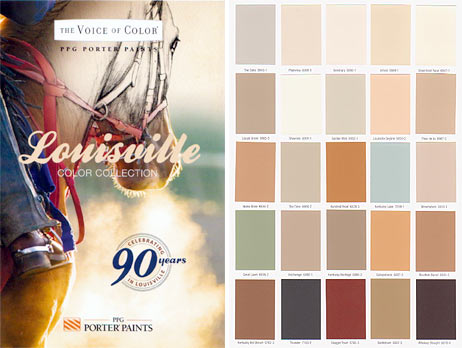 Louisville Color Collection by PPG Porter Paints