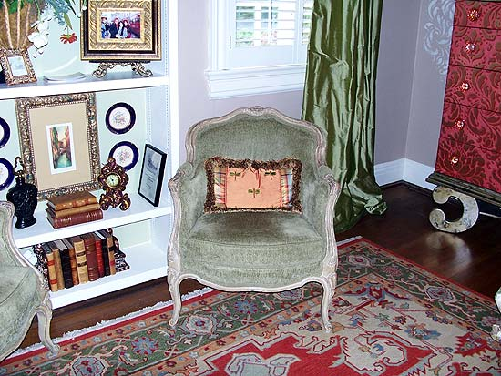 Photo from the 2011 Bellermine Show House: Side chair