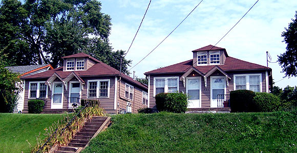 Photo of two homes in Clifton Louisville KY