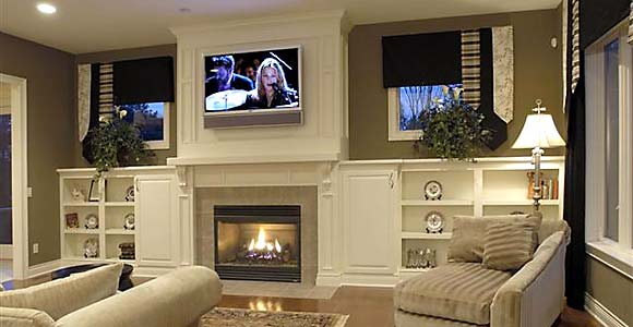 Photo of home with Smart House technology