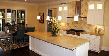 Photo of remodeled Louisville kitchen from top to bottom.