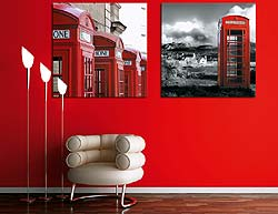Photo of room using powerful reds