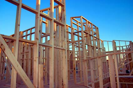 Photo of new construction taking environmental concerns for housing into consideration