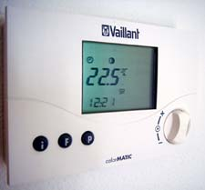 Photo of thermostat