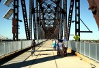 Photo of the Big Four Bridge Louisville KY