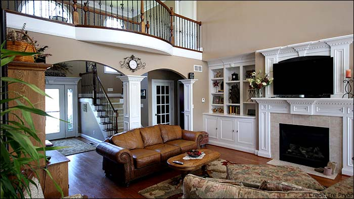 Photo of a great fireplace in a beautiful home. Must Have Home Features for 2016