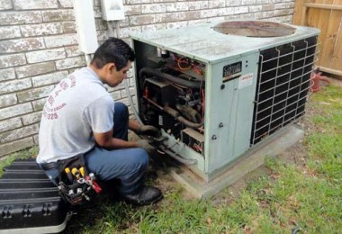 Photo of a AC repair