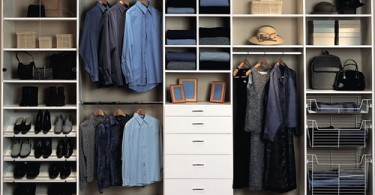 Photo of a custom closet