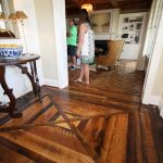 Photo of reclaimed hardwood floors in Homearama 2016 by Tre Pryor