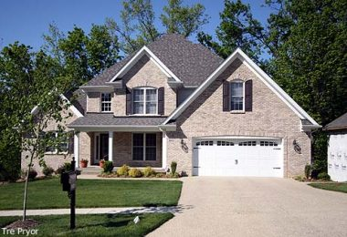 Photo of a Louisville new construction home in Glen Lakes.