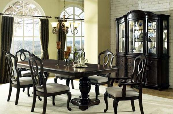 Photo of dining room furniture