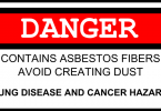 Danger: Watch Out for Asbestos