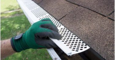 Photo of filters for seamless gutters.