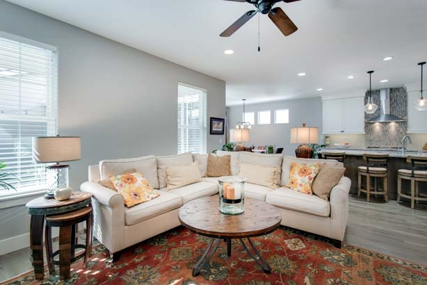 Photo of a home with neutral colors