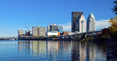 Photo of Downtown Louisville Kentucky