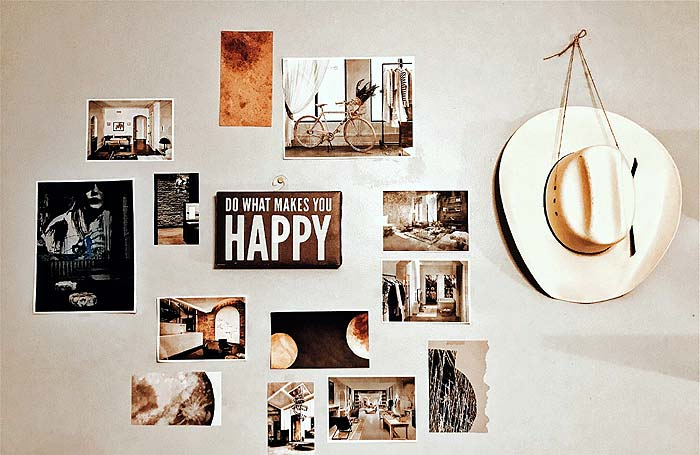 Photo of a photo wall - 5 Steps To Make Your House a Home
