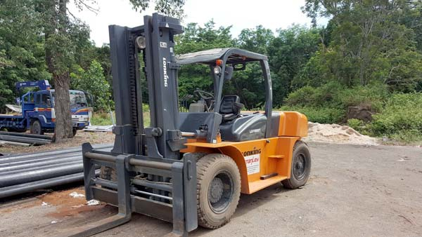 Photo of a forklift to use in a big home project