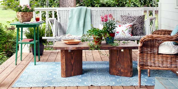 Photo of a welcoming and restful patio. - How to decorate a patio space