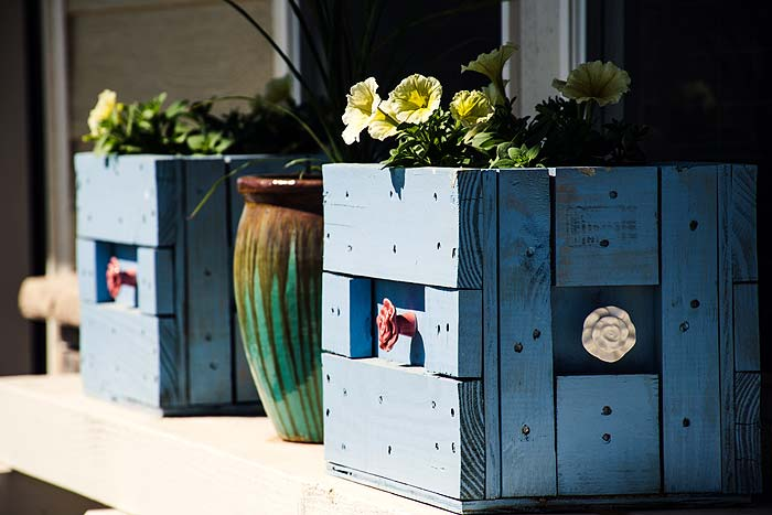 Photo of some awesome flower boxes. How to Take Your DIY Project to the Next Level