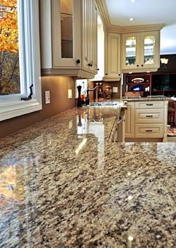 Photo of granite countertop - Simple Steps to an Amazing Kitchen Renovation